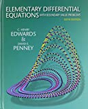 img - for Elementary Differential Equations with Boundary Value Problems and Student Solutions Manual (6th Edition) book / textbook / text book