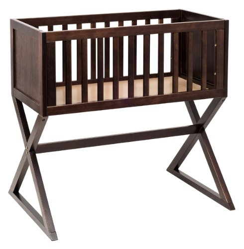 Baby Mod Bassinet With Pad, Espresso front-645480