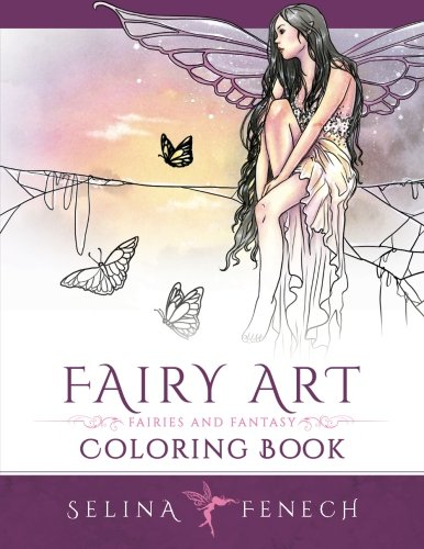 Fairy Art Coloring Book: Volume 1 (Fantasy Art Coloring by Selina)