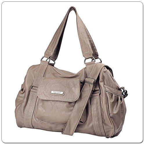VANCHI Fleetwood Carryall, Baby Diaper Bag - Handbag, Woodstock