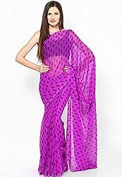 Soundarya Cotton Saree (Rs40 -Purple)
