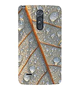 LEAF PATTERN Designer Back Case Cover for LG G3 Stylus::LG G3 Stylus D690N::LG G3 Stylus D690
