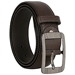 Comfort Zone India Brown Linked Design Men's Belt