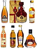 Weinbrand und Cognac Probierset mit jew. 1 x Metaxa 7-Sterne...