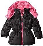 Pink Platinum Baby Girls' Ripstop Puffer Coat