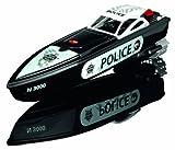 Dickie 201119530 - Barco teledirigido de la policía [importado de Alemania]