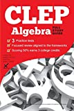 img - for CLEP Algebra 2017 book / textbook / text book