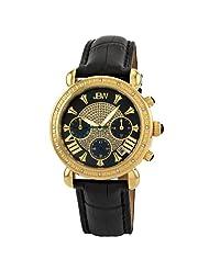 "JBW-Just Bling Women's JB-6210L-M ""Victory"" Leather Diamond Chronograph Watch"