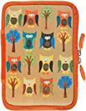 NeoSkin Kindle Zip Sleeve, Owls (Fits Kindle and Kindle Paperwhite, Neoprene Kindle Cover, Kindle Case)