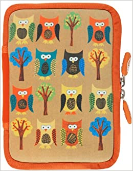Neoskin Kindle Zip Sleeve Owls Fits Kindle And Kindle