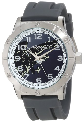 Ed Hardy Men's NA-BK Nash Black Watch