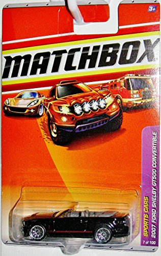 2010 Matchbox Sports Cars 2007 Ford Shelby GT500 Convertible 7/100 - 1