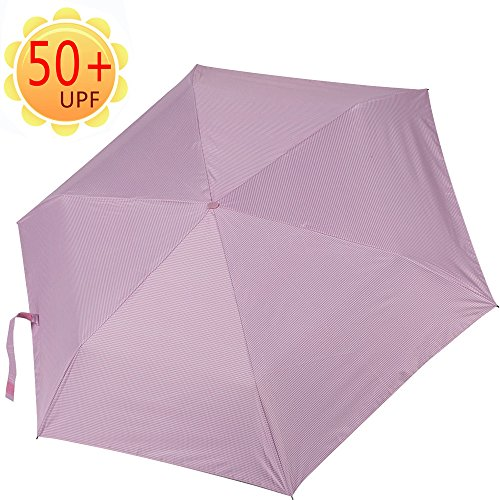 ultralight travel umbrella auto open close anti uv 50 upf. Black Bedroom Furniture Sets. Home Design Ideas
