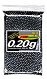 TSD Tactical 3,000 ct. Bag Plastic Black Airsoft BBs (6mm, 0.20g)