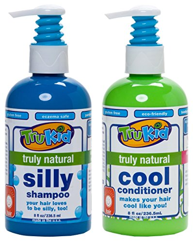 Trukid Silly Shampoo and Cool Conditioner Combo Pack, Light Citrus, 8 oz each, 2 Count