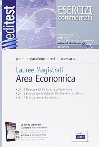 Specialitest economia eserciziario commentato economia for Test ammissione economia