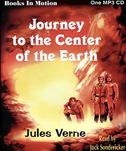 Jules Verne - Journey to the Center of the Earth: (illustrated)