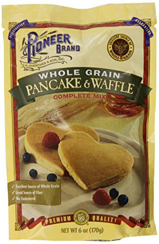 Pioneer Brand Whole Grain Pancake Mix, 6 Ounce (Pack of 12) (Pioneer Pancake Mix compare prices)