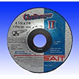 SAIT 27501 4-1/2X7/8X1/8 Flexible Grinding/Blending Wheels 60 Grit  P