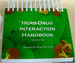 herb drug interaction handbook