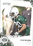 Kyle Wilson RC - New York Jets (RC - Rookie Card) 2010 Score Football Card - NFL Trading Card in Screwdown Case