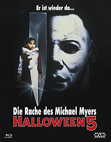 Halloween 5 (Blu-Ray) Hartbox - Limited 150 Edition Cover A