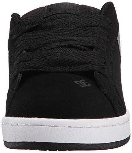 DC Men's Court Graffik SE Skate Shoe,  Black Dark Used,  7 M US