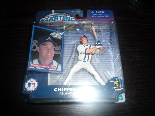 2000 Chipper Jones Atlanta Braves MLB Starting Lineup 2 Figure