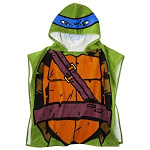 Nickelodeon Teenage Mutant Ninja Turtles Hooded Bath Towel Poncho