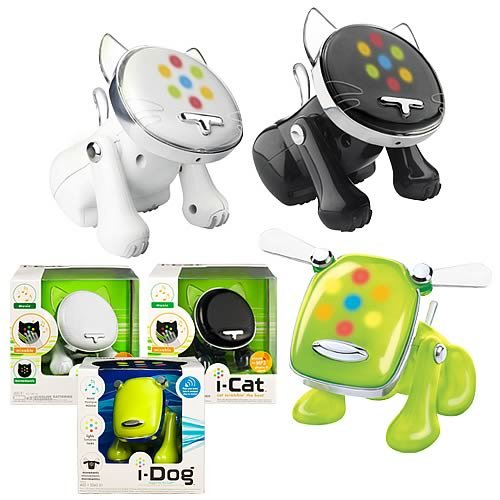 Buy i-Dog & i-Cat Musical Robot Pets Wave 2 Revision 1