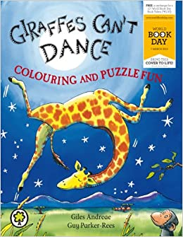 Giraffes Can't Dance Colouring and Puzzle Fun: Giles ...