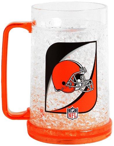Nfl Cleveland Browns 16-Ounce Crystal Freezer Mug