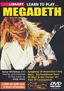 Learn to Play Megadeth [Import anglais]