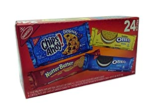 Nabisco Variety Pack Cookies - 24 Ct.