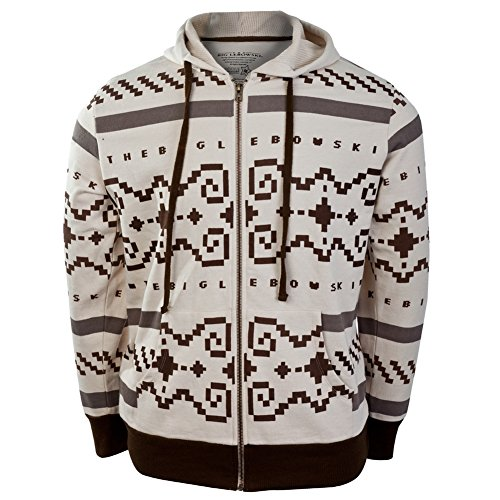 Big Lebowski - Sweater Zip Costume Hoodie - 2X-Large