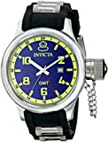 Invicta Men's 6610 Signature Collection GMT Black Rubber Watch