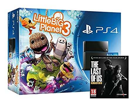 Sony PS4 Console with LittleBigPlanet 3 (PS4)