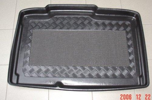 Kofferraumwanne für Opel Corsa D 3tür 2006-2010 vertiefte Ladefläche Wanne mit Antirutschmatte Laderaumwanne