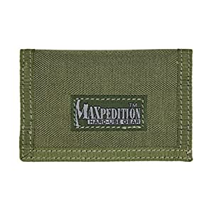 Maxpedition Gear Micro Wallet, Foliage Green