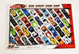 36 PC DIE CAST CAR MODEL RACING CARS KIDS TOY PLAY SET