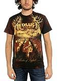 Metallica - - Mop Tod Allover T-Shirt in Schwarz