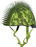 Raskullz Digital Camo Mohawk Helmet, Green