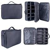 YaeKoo Professional Makeup Cosmetic Case Beauty Artist Storage Waterproof Tools Brushes Box Bag Holder Organizer...