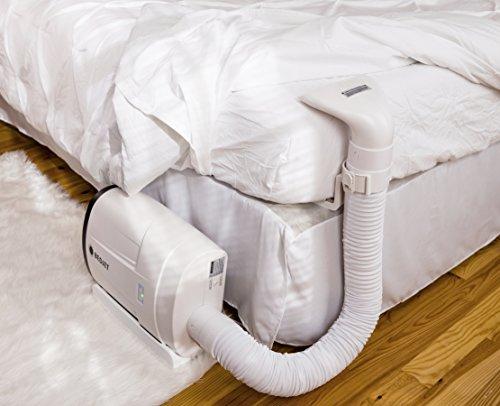 bedjet v2 climate comfort for beds cooling fan heating. Black Bedroom Furniture Sets. Home Design Ideas