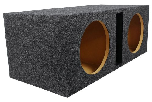 "Rockville Rdv10 Dual 10"" 1.1 Cu. Ft. Vented Subwoofer Enclosure With Grade A 3/4"" Mdf, Made In America Using Only The Highest Quality Materials For The Best Performance And Sound From Your Subs"
