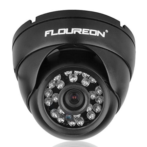 FLOUREON® 4CH 960H HDMI H.264 CCTV DVR Überwachungssystem Sicherheits-Set mit 2x 900TVL Überwachungskamera Wasserdicht IP 65 Nacht Vision Videokamera