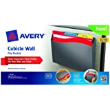 Avery Cubicle Wall File Pocket, Gray, Letter Size, 1 Pocket (73516)