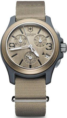 Relojes Unisex Victorinox ORIGINAL CHRONO BEIG CORREA LONETA V241533