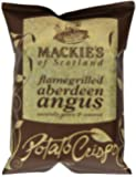 Mackie's of Scotland Flamegrilled Aberdeen Angus Potato Crisps 40 g (Pack of 24)