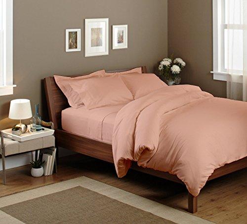 BEDROOM BRICK RUST BROWN DUVET TAUPE PATTERN COMFORTER BED COVER SET ALEX #8
